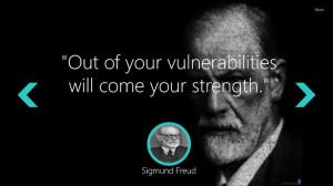 Sigmund Freud Quotes screen shot 1
