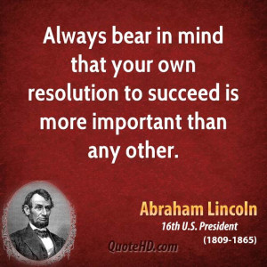 Abraham Lincoln Quotes On Success In Hindi