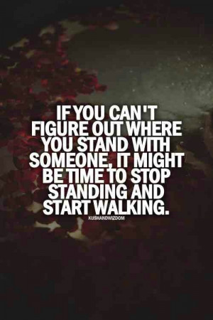 Where you stand is your choice
