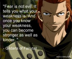 Dakaroth Gildarts Quote - Fairy Tail