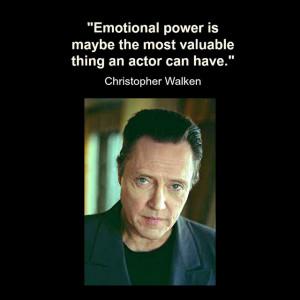 Movie Actor Quote - Christopher Walken - Film Actor Quote # ...