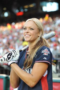 Jennie Finch. My number one favorite softball player. Not only is she ...