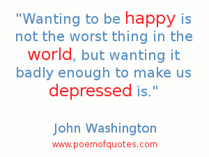 quote about being depressed