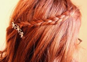 Cute Hair Clip Ideas for Ginger Hair