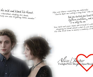 Alice and Jasper quotes - Twilight Series