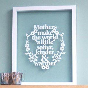 ... frames don't steal any thunder from the simply designed paper cuts