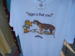 Funny Tigger Quotes Tigger, is that you?