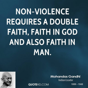 gandhi non violence quotes source http mahatma gandhi quotes on ...