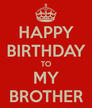 Little Brother Birthday