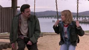 Ben Affleck as Holden and Joey Lauren Adams as Alyssa in 'Chasing Amy'