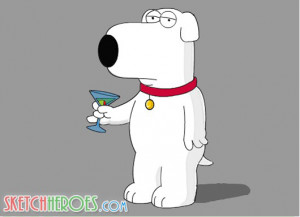 Brian Griffin Family Guy Photo