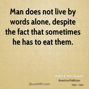Words to Live by Men Quotes