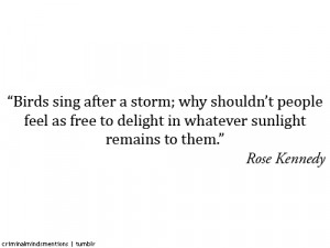 rose kennedy quotes criminal minds