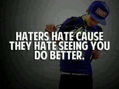 love my haters!!