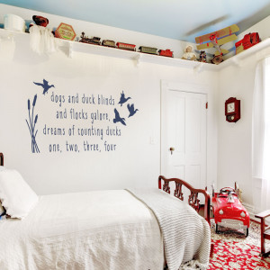 Hunting Quotes Counting ducks wall quote