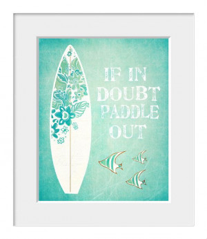 Surf Print, Coastal Art, Inspirational Quote, Surf, Nat Young Quote ...