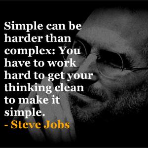 Steve Jobs inspirational quote
