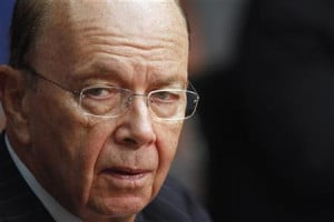 Wilbur Ross, chairman and CEO of WL Ross & Co., speaks during the ...