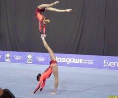 Acrobatic Gymnastics Mixed Pairs