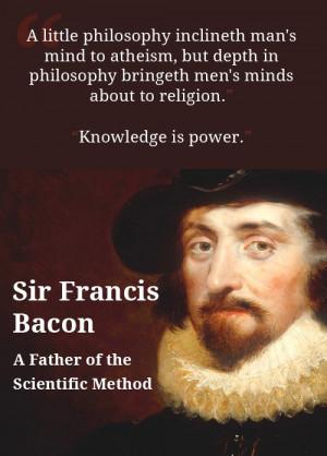 Sir Francis Bacon Quotes Francis bacon