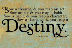 ve been thinking a lot about the power of words lately. I love quotes ...