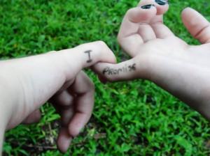 best friends, friends, friendship, hands, holding hands, i promise