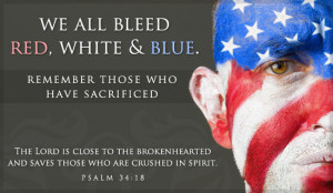 Red, White & Blue Ecard