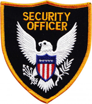 security patches, security officer patches, security emblem