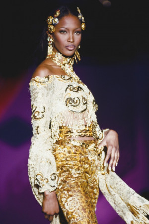Naomi Campbell Versace Fashion Quote
