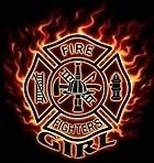 love my firefighter Image