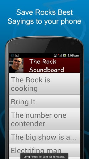 View bigger - The Rock Soundboard Quotes for Android screenshot