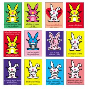 All Graphics » happy bunny love
