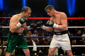 """Grudge Match : """"It's brave of you to come out here without a bra ..."""