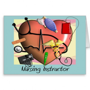 Nursing Instructor Thank You Gifts Cards