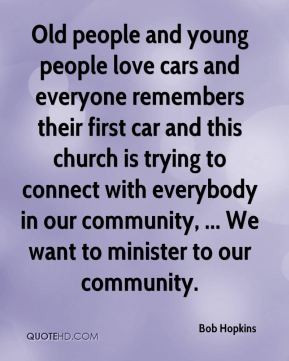 Old people and young people love cars and everyone remembers their ...