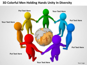 3d_colorful_men_holding_hands_unity_in_diversity_ppt_graphics_icons ...