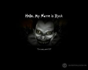 death note horror scary clown ryuk 1280x1024 wallpaper Anime Death ...