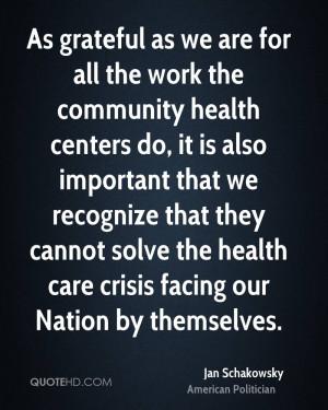 Jan Schakowsky Health Quotes