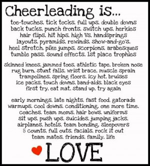 Cheer Poems?