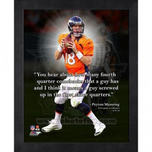 Home Collectibles Pro Quotes Peyton Manning Pro Quote (AAPL172)