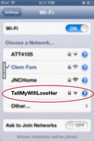 Funny wifi name