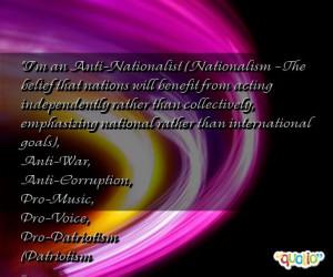 Anti Nationalism Quotes