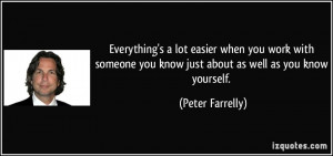 More Peter Farrelly Quotes