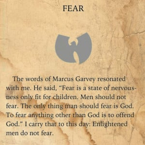 The Tao of Wu #MarcusGarvey #WuTang #HipHop #Quotes
