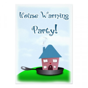 Funny Housewarming Invitations