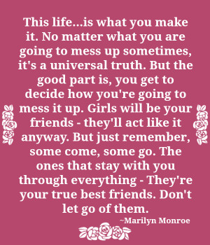 ... Make It. No Matter What You Are Going to Mess Up sometimes ~Life Quote