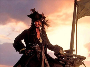... you forgot one very important thing, mate: I'm Captain Jack Sparrow