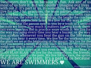 Swim Team Phrases http://vyturelis.com/competitive-swimming-quotes ...