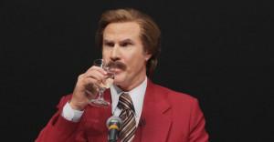 Ron Burgundy will not be on SportsCenter beca