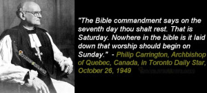 Quotes about the Sabbath